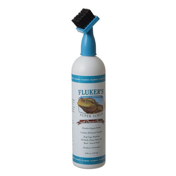 Flukers Super Scrub with Organic Cleaner - 16 oz