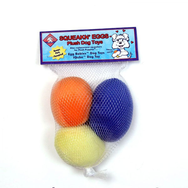 Plush Puppies Egg Babies Replacement Eggs - 3 Pack - 4 Pieces