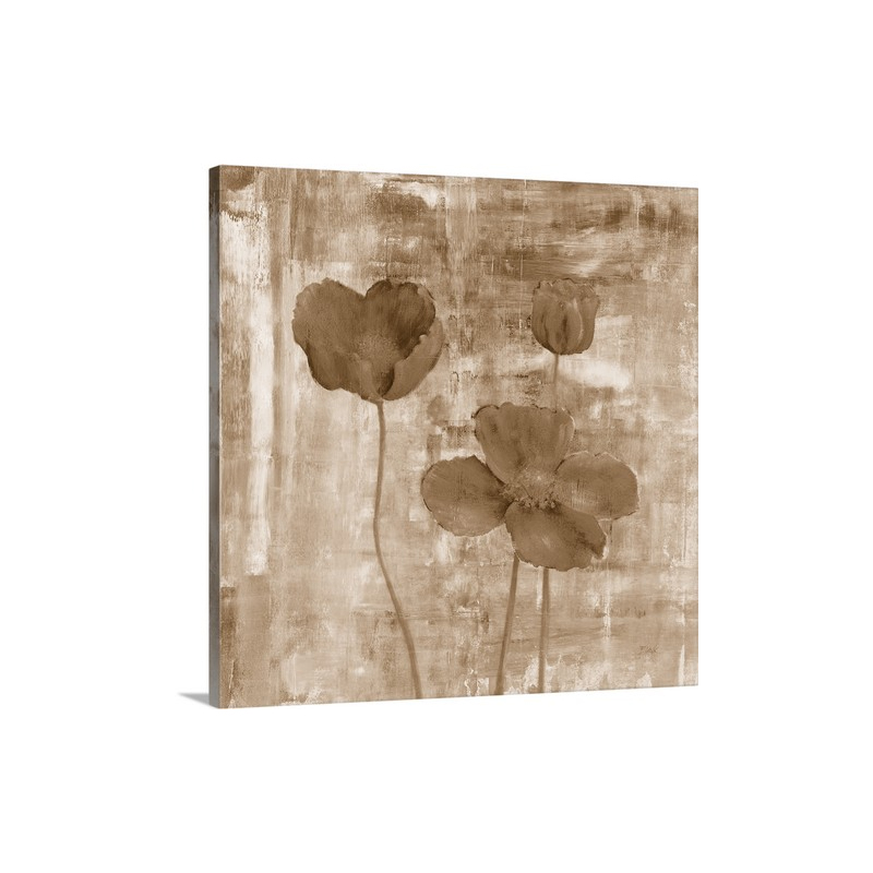 Yellow Flowers I I Wall Art - Canvas - Gallery Wrap