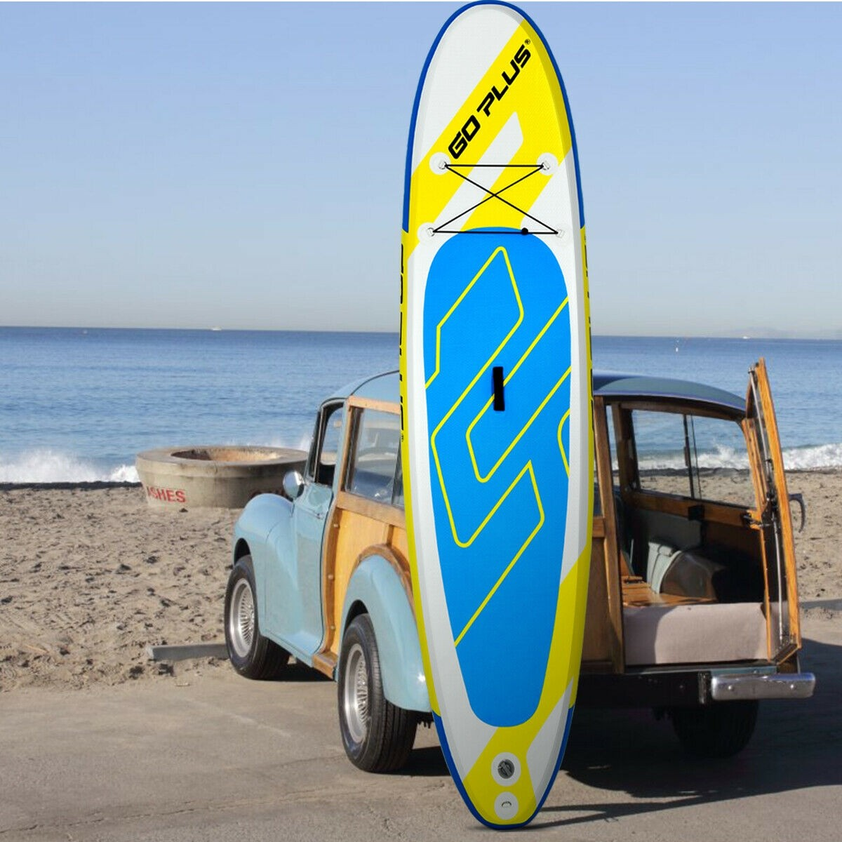 10 Ft. Inflatable Stand Up Paddle Surfboard With Bag