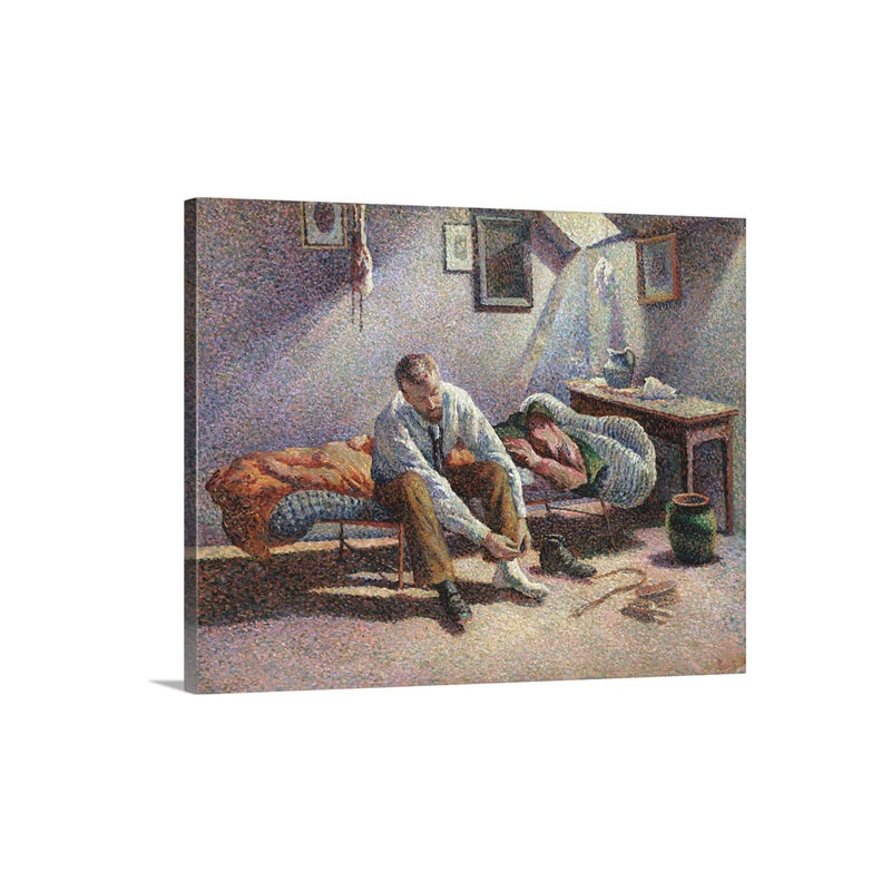 Morning Interior By Maximilien Luce Wall Art - Canvas - Gallery Wrap