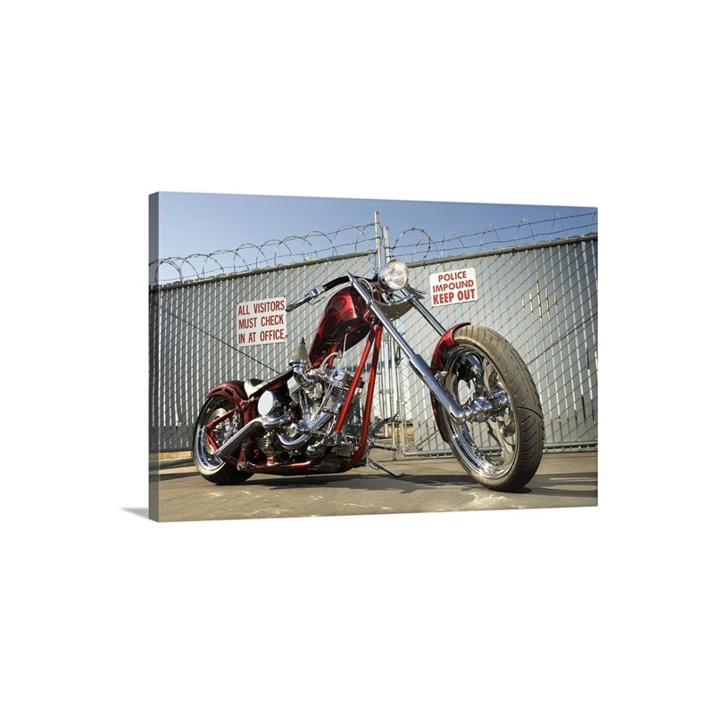 Motorcycle Wall Art - Canvas - Gallery Wrap