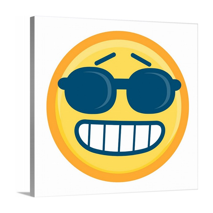 Cool Emoji With Rounded Sunglasses