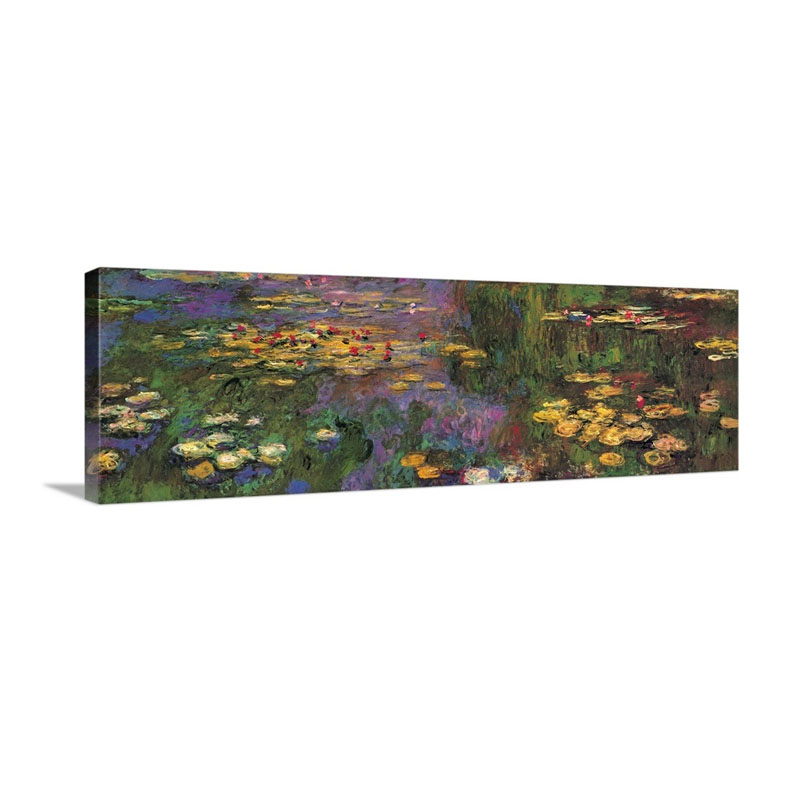 Water Lilies Wall Art - Canvas - Gallery Wrap