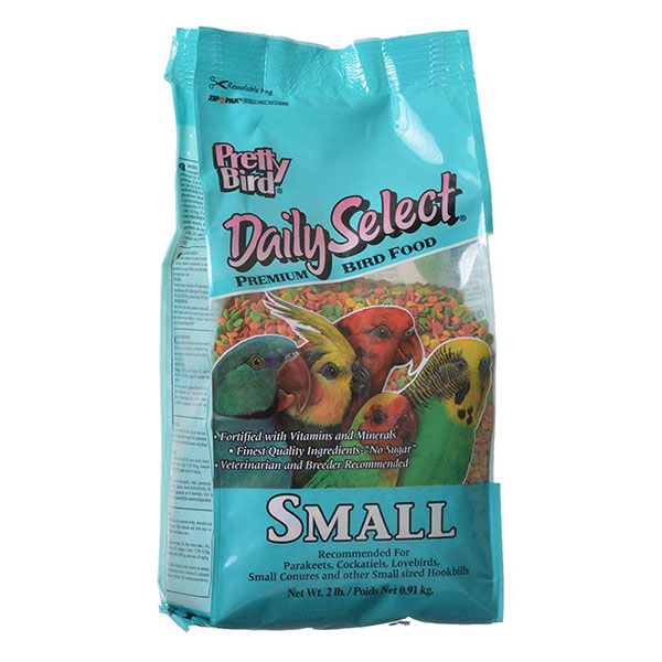 Pretty Bird Daily Select Premium Bird Food - Small - 2 lbs