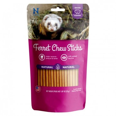 N-Bone Ferret Chew Sticks Bacon Flavor - 1.87 oz - 3 Pieces