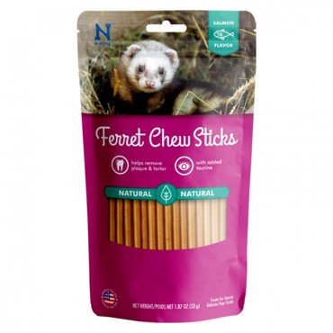 N-Bone Ferret Chew Treats - Salmon Flavor - 1.87 oz - 3 Pieces