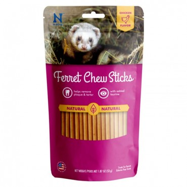 N-Bone Ferret Chew Sticks Chicken Flavor - 1.87 oz - 3 Pieces