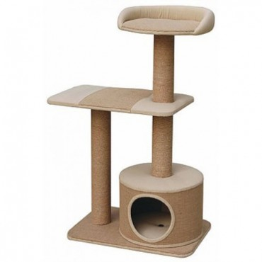 Pet Pals Pillar Cat Tree with Condo - 1 Count