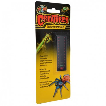 Zoo Med Creatures Thermometer - 1 Count - 5 Pieces