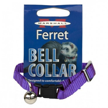 Marshall Ferret Bell Collar - Purple - 1 Count - 2 Pieces