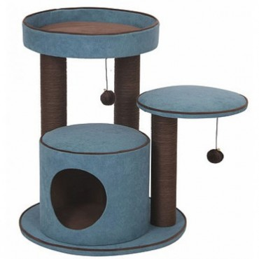Pet Pals Meadows Cat Tree with Condo - 1 Count