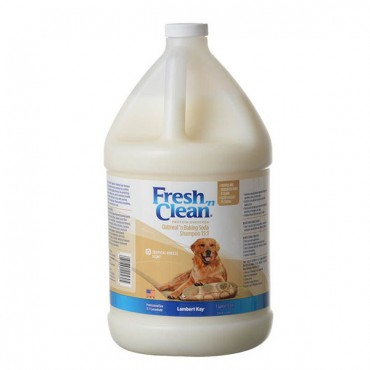 Fresh 'n Clean Oatmeal 'n Baking Soda Shampoo - Tropical Scent - 1 Gallon Concentrate - Makes 15 Gallons
