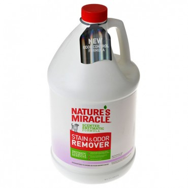 Nature's Miracle Stain and Odor Remover - Lavender Scent - 1 Gallon