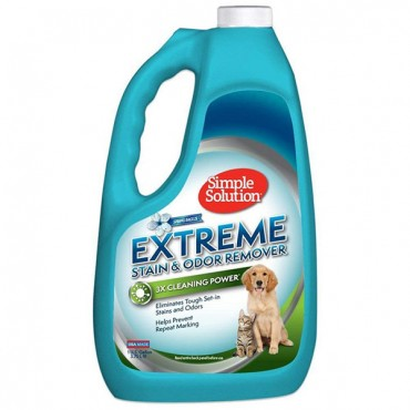 Simple Solution Extreme Stain and Odor Remover - Spring Breeze - 1 Gallon