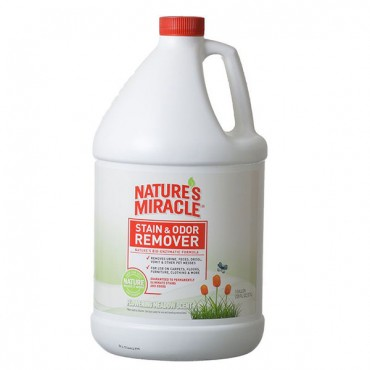 Nature's Miracle Just for Cats Stain and Odor Remover - Flowering Meadow Scent - 1 Gallon