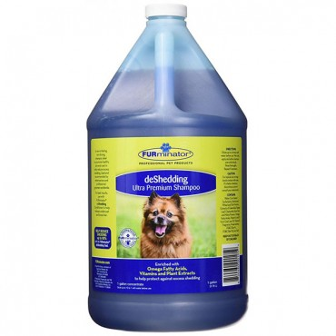 FURminator deShedding Ultra Premium Shampoo for Dogs - 1 Gallon