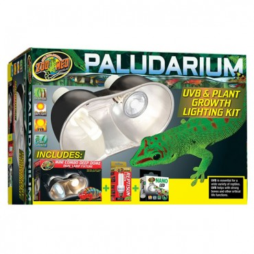 Zoo Med Paludarium UVB and Plant Growth Lighting Kit - 1 Kit