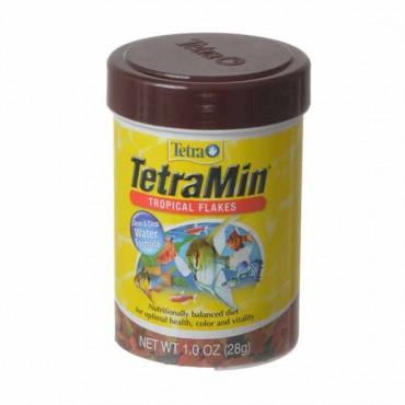 Tetra Tetra Min Tropical Flakes Fish Food - 1 oz - 4 Pieces