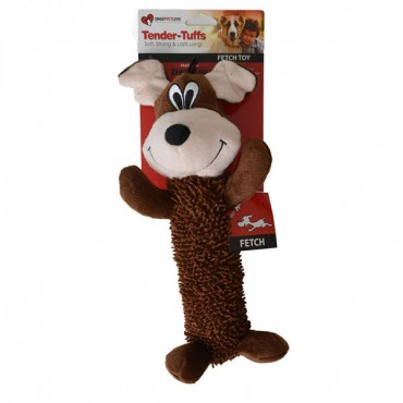 Smart Pet Love Shaggy Brown Dog Dog Toy - 1 Pack - 12 in. Long