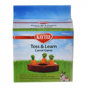 Kaytee Toss & Learn Carrot Game - 1 Pack - 4 Pieces - 2 Pieces