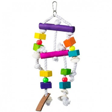 Prevue Bodacious Bites Buffet Bird Toy - 1 Pack - 4 in. W x 12 in. H - 2 Pieces