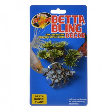 Zoo Med Betta Bling Bonsai Plant Decor - 1 Pack - 2 Pieces