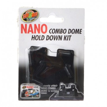 Zoo Med Nano Combo Dome Hold Down Kit - 1 Pack - 2 Pieces