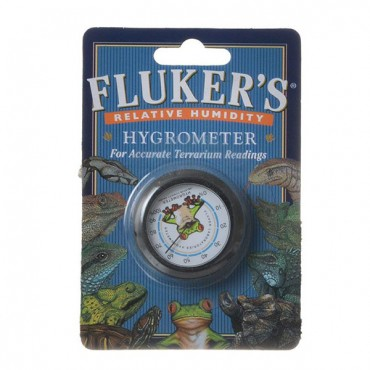 Flukers Relative Humidity Hygrometer - 1 Pack - 2 Pieces