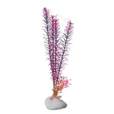 Penn Plax Aqua-Plant Rock Plants - Multi-colored - 10 in. High - 2 Pieces