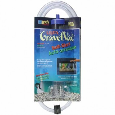 Lees Ultra Gravel Vac - 10 in. Long with Nozzle