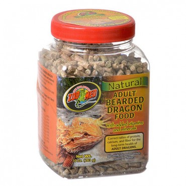 Zoo Med Natural Adult Bearded Dragon Food - 10 oz - 2 Pieces