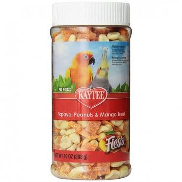 Kaytee Fiesta Papaya, Peanut & Mango Treat - Pet Birds - 10 oz - 2 Pieces