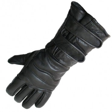 Perrini Motorcycle Gloves Close out Winter Riding Leather Biker Leather Gloves New