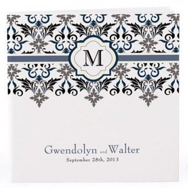 Personalized Notepad Favor Lavish Monogram - 6 Pieces