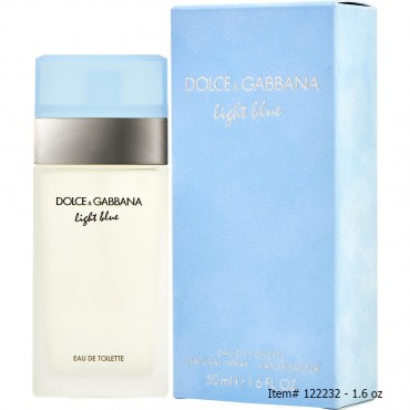 D And G Light Blue - Eau De Toilette Spray 1.6 oz