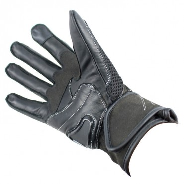 Perrini Pro Biker Motorcycle Gloves Racing Leather Motorbike Gloves with Hard Knuckles