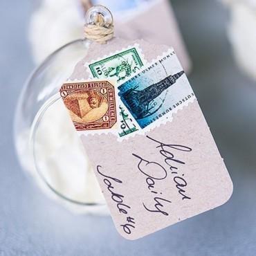 Merchandise Tag Plain - White - 2 Pieces