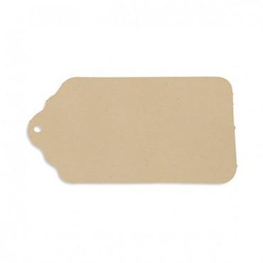 Merchandise Tag Plain - Kraft - 2 Pieces