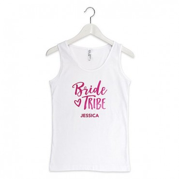 Personalized Bride Tribe Tank Top