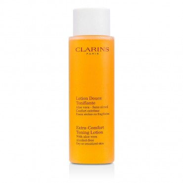 Clarins - Extra Comfort Toning Lotion Dry / Sensitive Skin Alcohol Free /6.8 oz 200ml