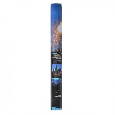 GloFish Aquarium Background - Cave and City scape - 12 in. H x 20 in. W - Aquariums up to 10 Gallons - 2 Pieces