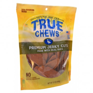 True Chews Premium Jerky Cuts with Real Duck - 12 oz