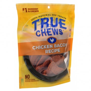 True Chews Chicken Bacon Recipe Treats - 12 oz