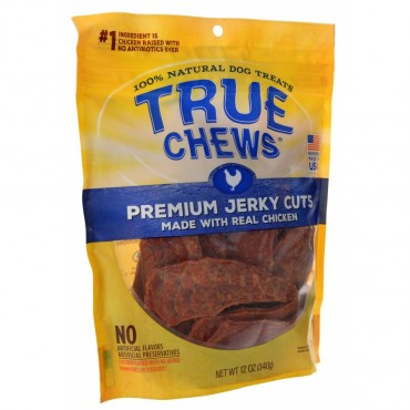 True Chews Premium Jerky Cuts with Real Chicken - 12 oz