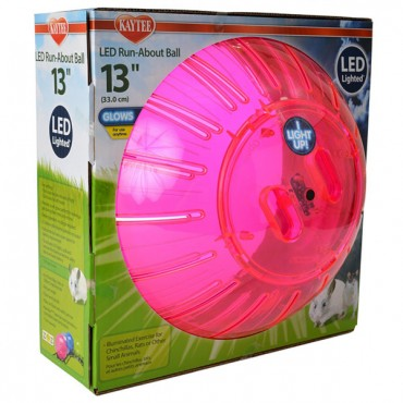 Kaytee LED Run-About Ball - 13 in. Diameter