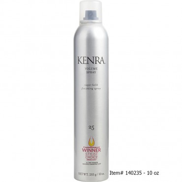 Kenra - Volume Spray Number 25 Aerosol Super Hold Finishing Spray Packaging May Vary 1.5 oz