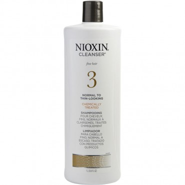 Nioxin - Bionutrient Protectives Cleanser System 3 For Fine Hair Packaging May Vary 33.8 oz