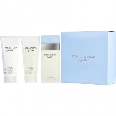 Eau De Toilette Spray 3.3 oz And Body Cream 3.3 oz And Shower Gel 3.3 oz Travel Offer