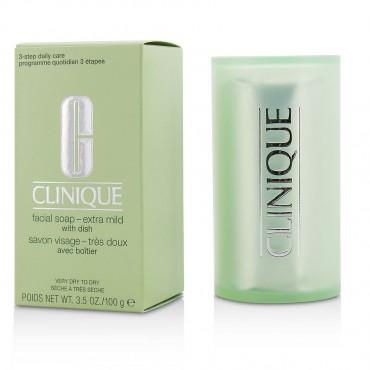 Clinique - Facial Soap Extra Mild With Dish  100g/3.5oz